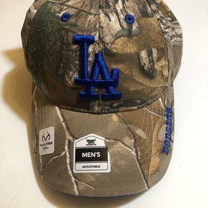 LA dodger realtree snapback hat